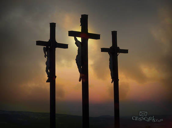Korsfæstet for os